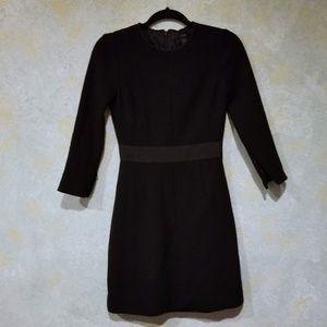 J.Crew 100% Wool Mini Dress Sz 00 in EUC